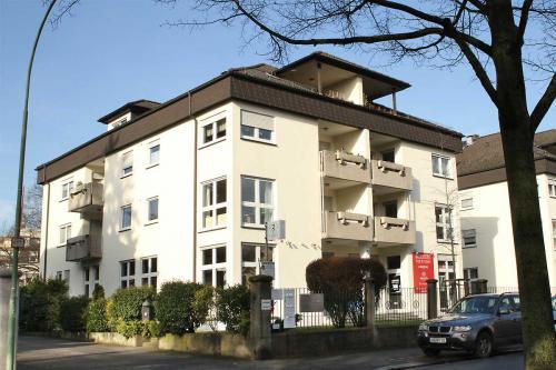 Außenansicht der Tierarztpraxis in Friedberg